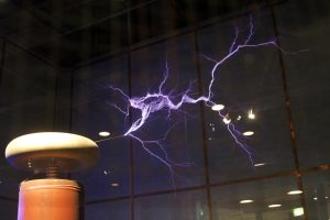 Big Tesla coil of Oklahoma