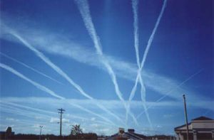 What in the world are they spraying?